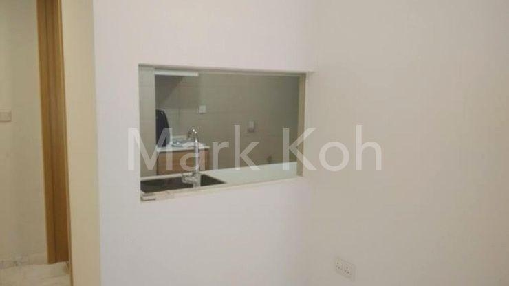 Glass window of Kitchen