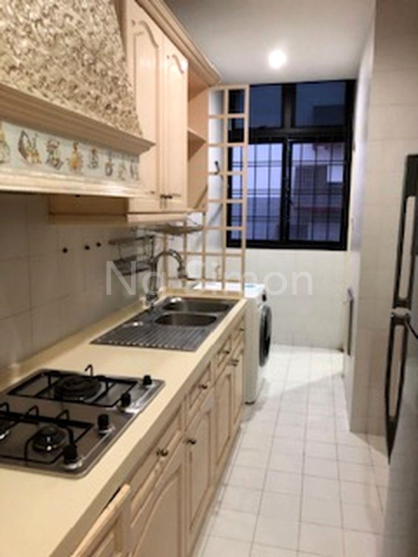 Enclosed Kitchen (I)