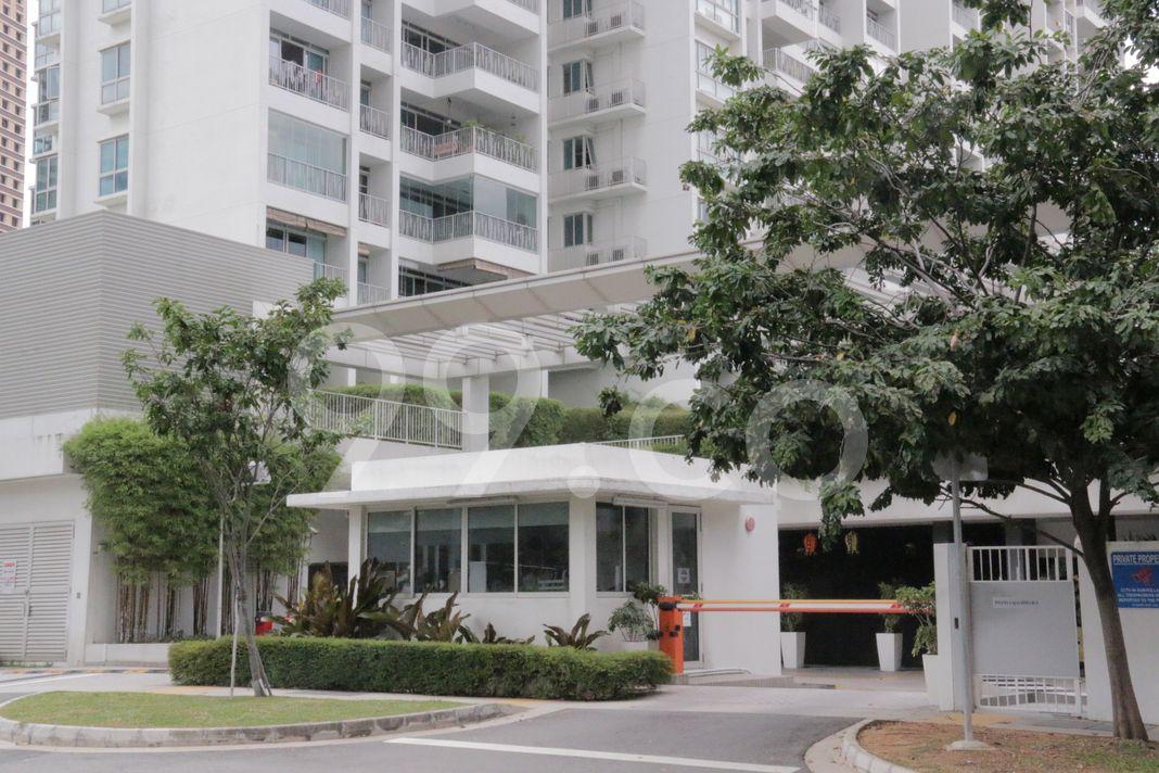 The Metropolitan Condominium  Entrance