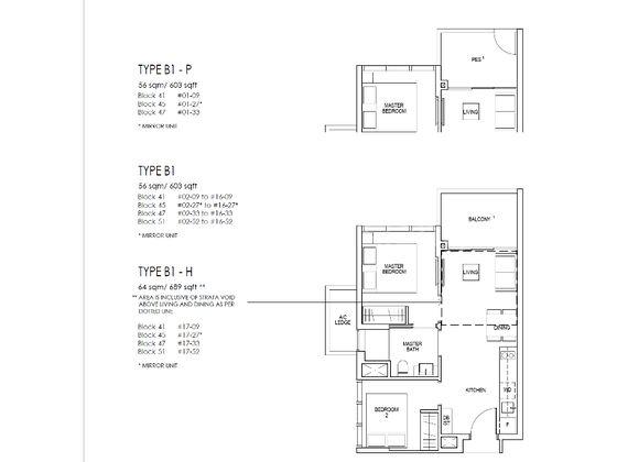 B1h Floor Plan