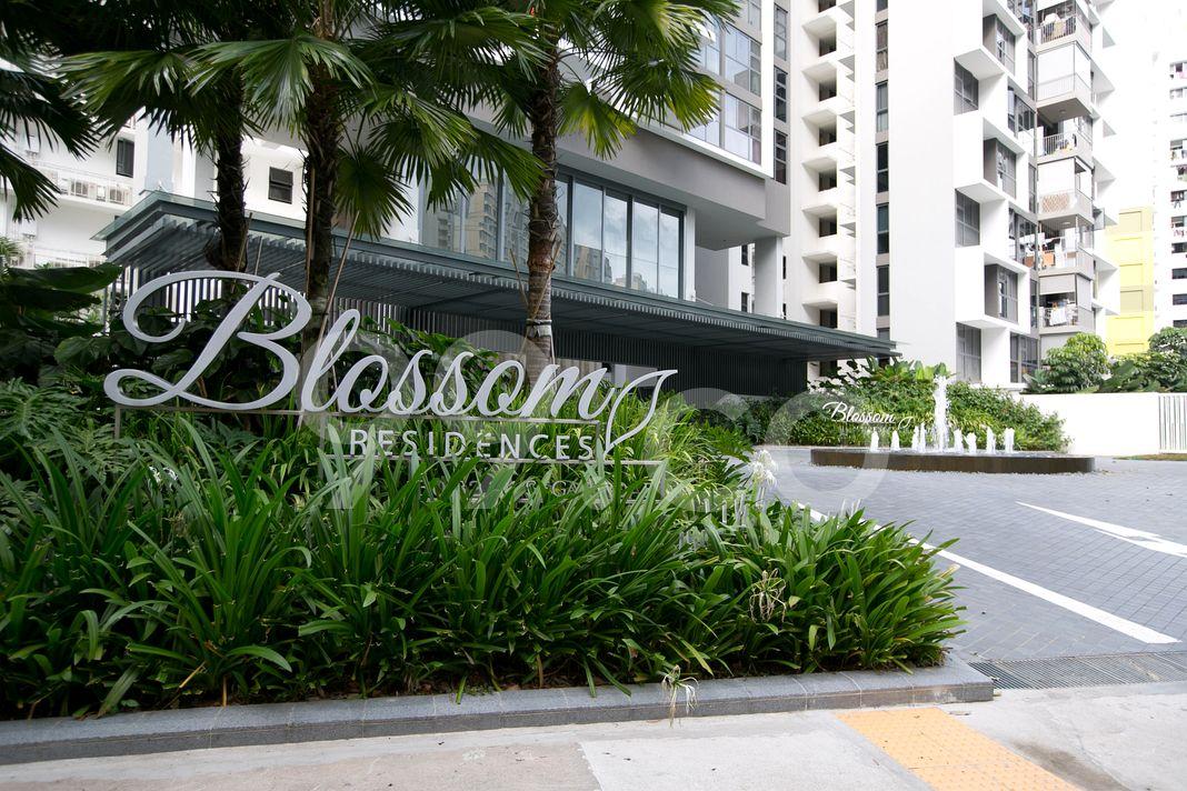 Blossom Residences  Logo