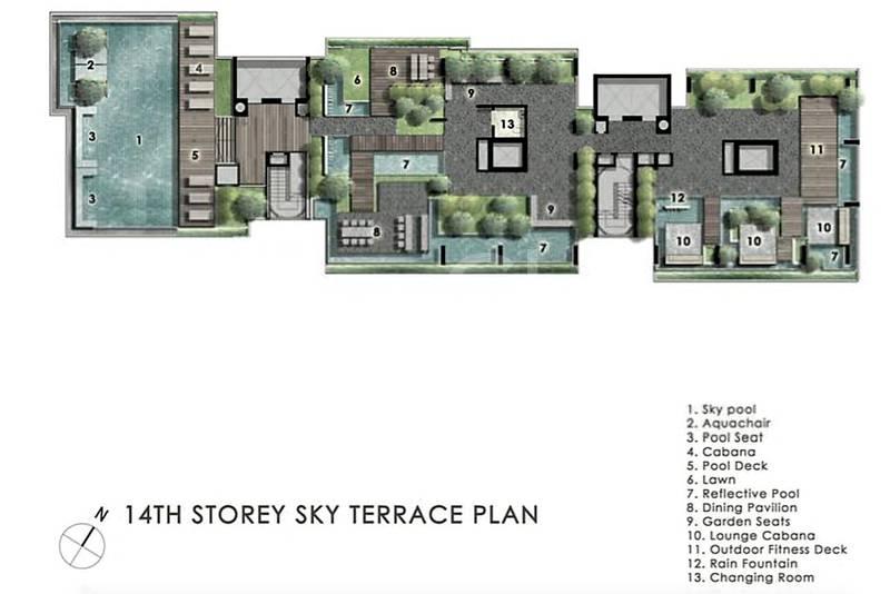 Sky Terrace (Level 14)