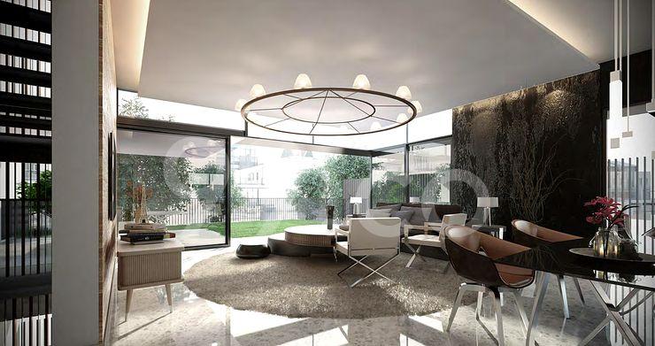 Victoria Park Villas Living Room