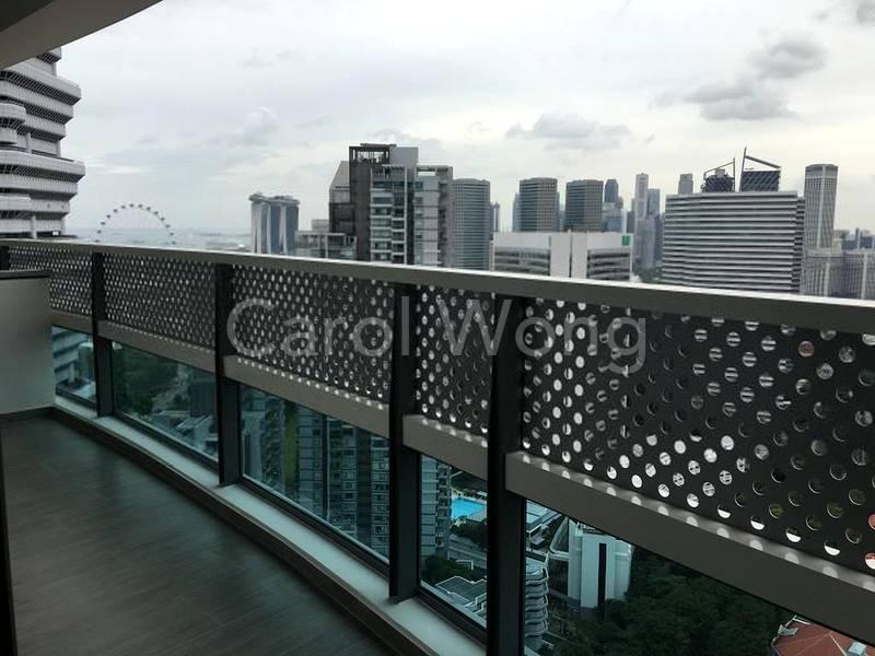 Balcony - left view