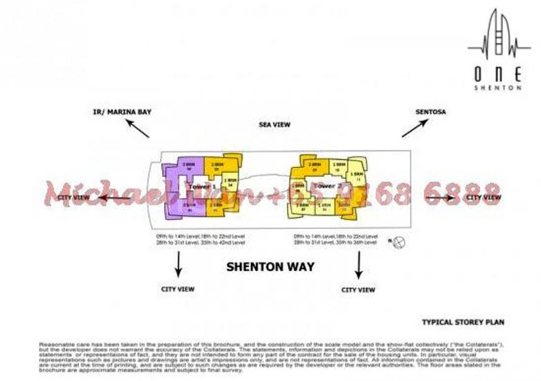 One Shenton Site Plan