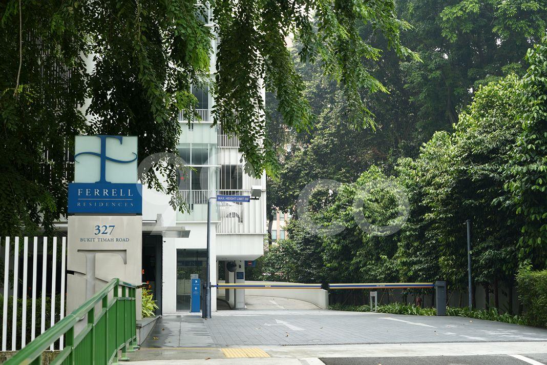 Ferrell Residences  Entrance