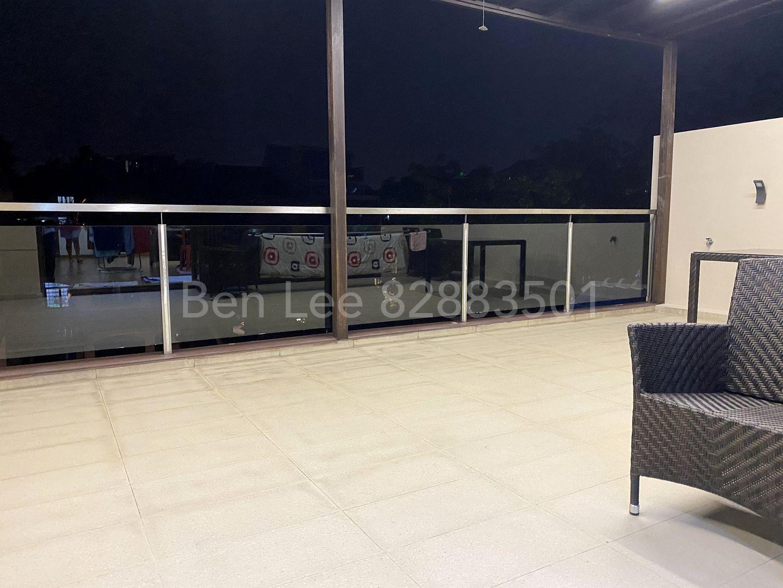 3F roof terrace balcony