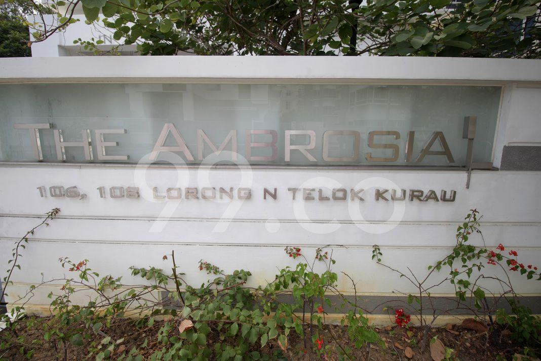 The Ambrosia  Logo
