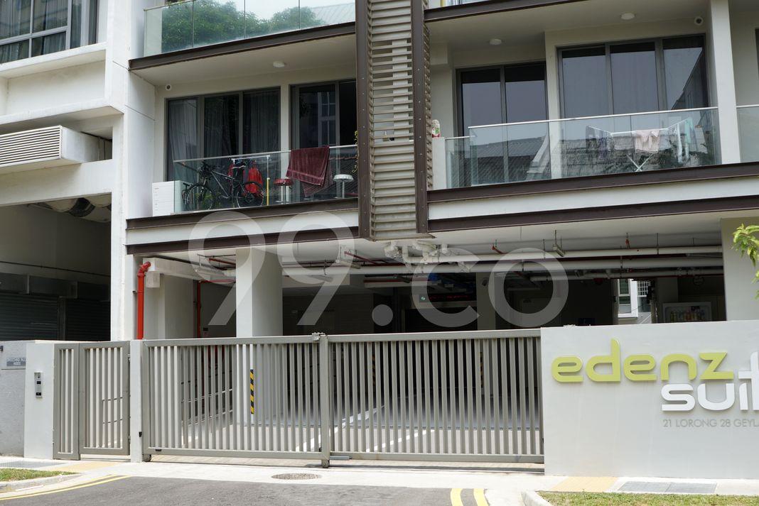 Edenz Suites  Elevation