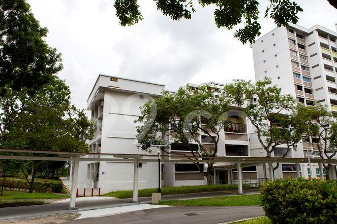 HDB-Jurong East Block 46 Jurong East