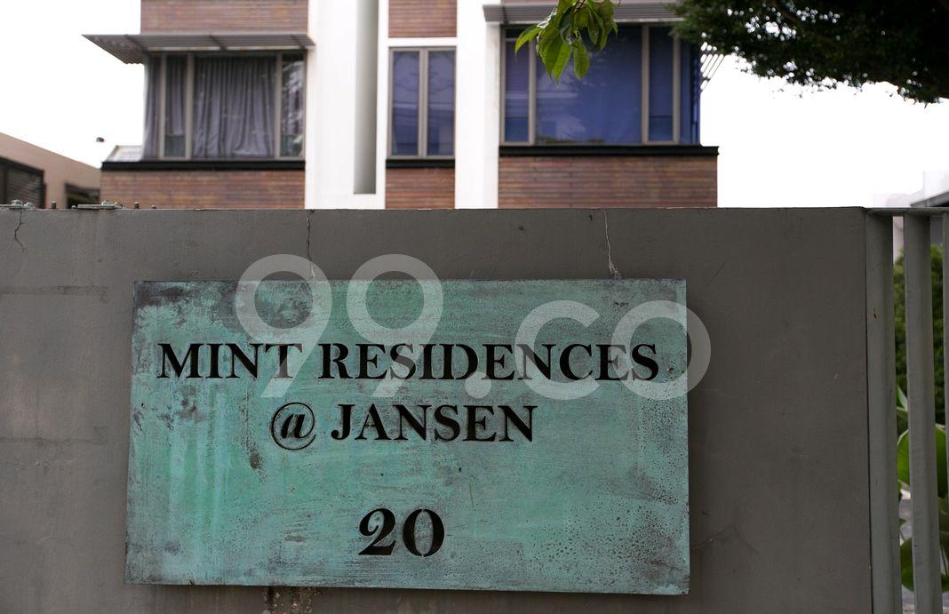 Mint Residences @ Jansen  Logo