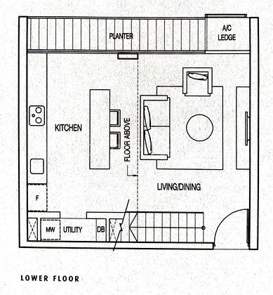 Floor Plan Lower Floor