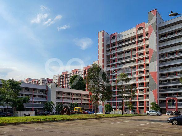 HDB-Hougang Block 458 Cluster View HDB-Hougang