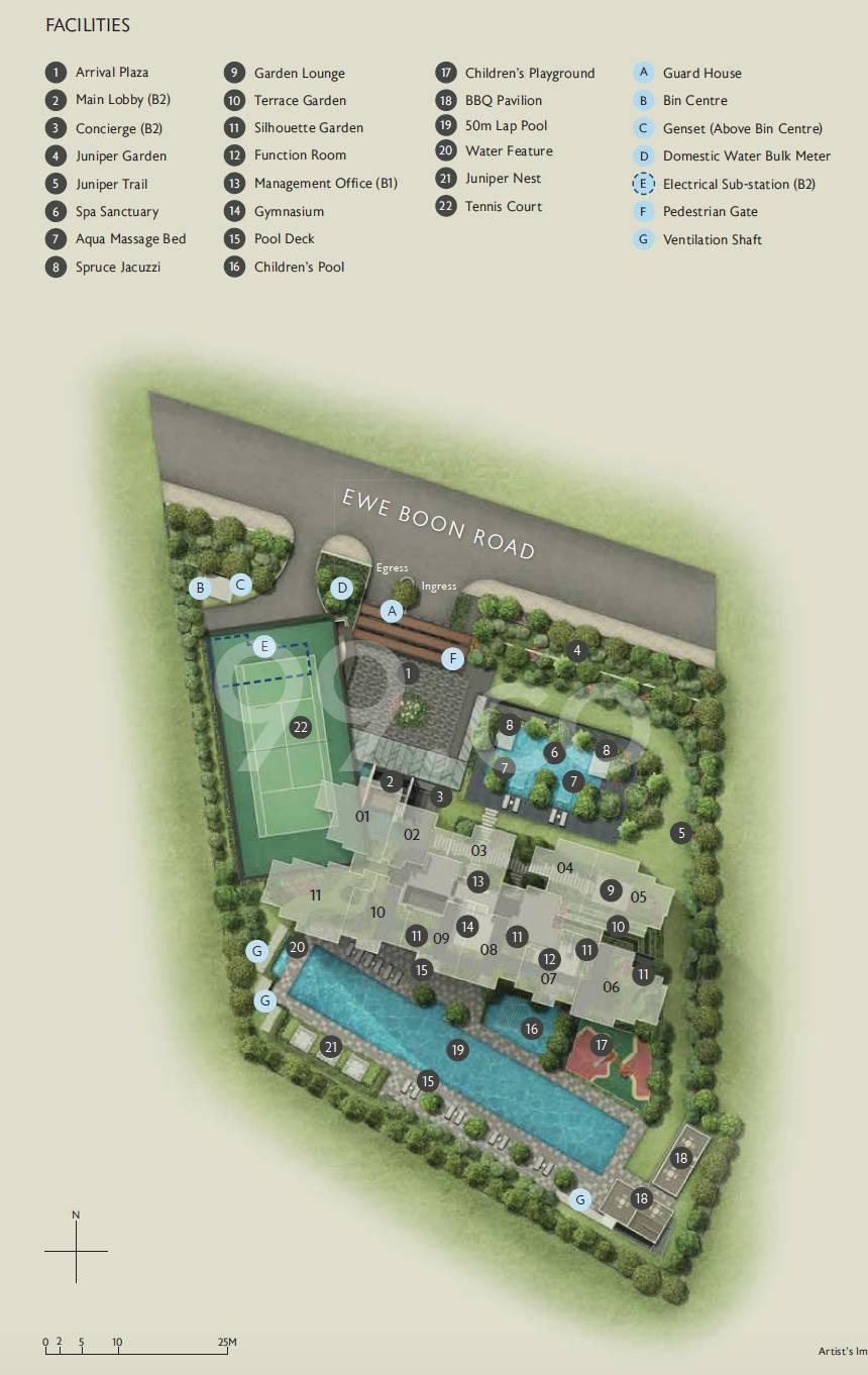 Juniper Hill site plan