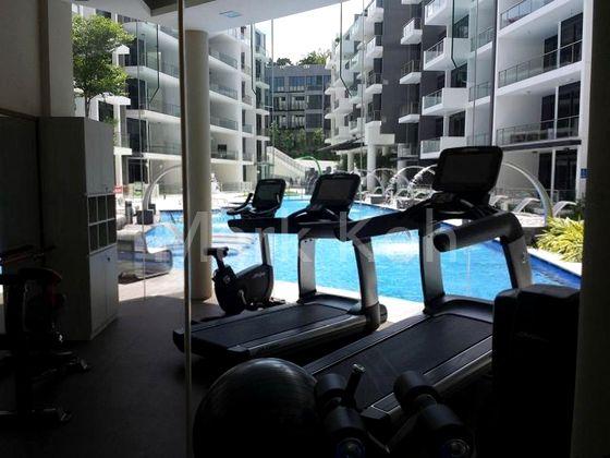 Gym Facing Pool