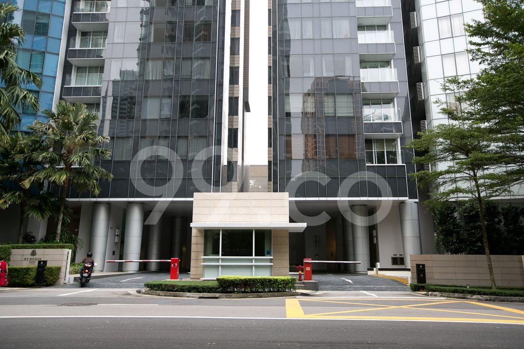 St. Regis Residences Singapore  Entrance