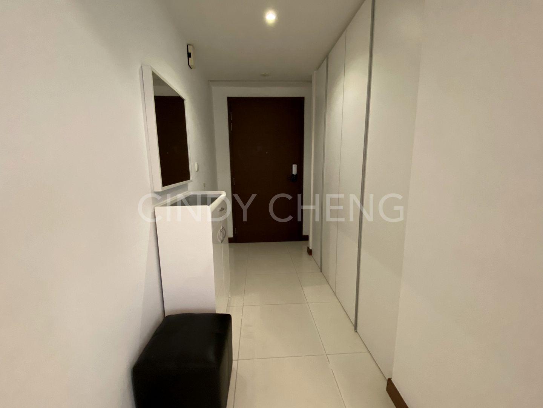Entrance door to apartment