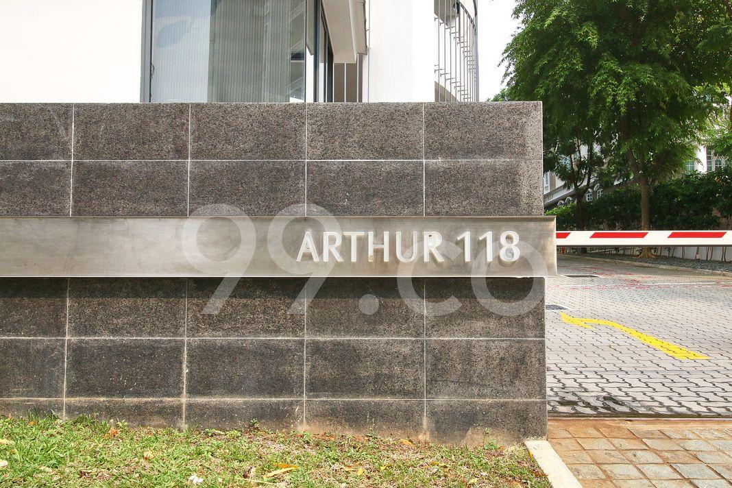 Arthur 118  Logo