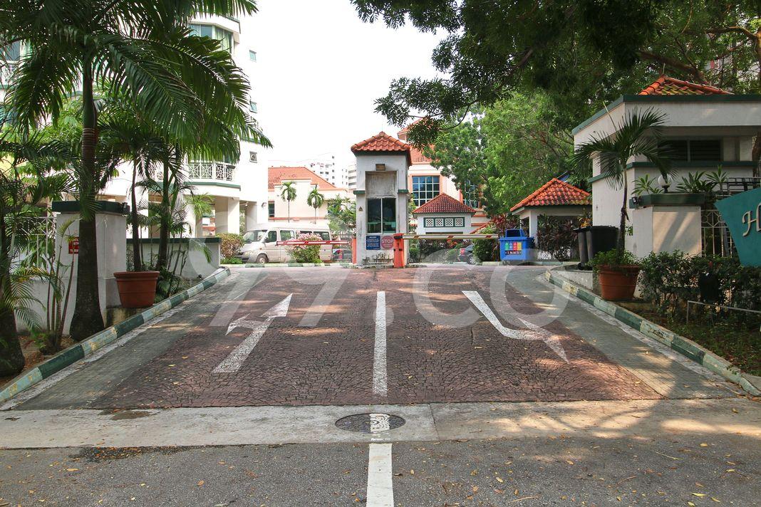 Hougang Green  Entrance