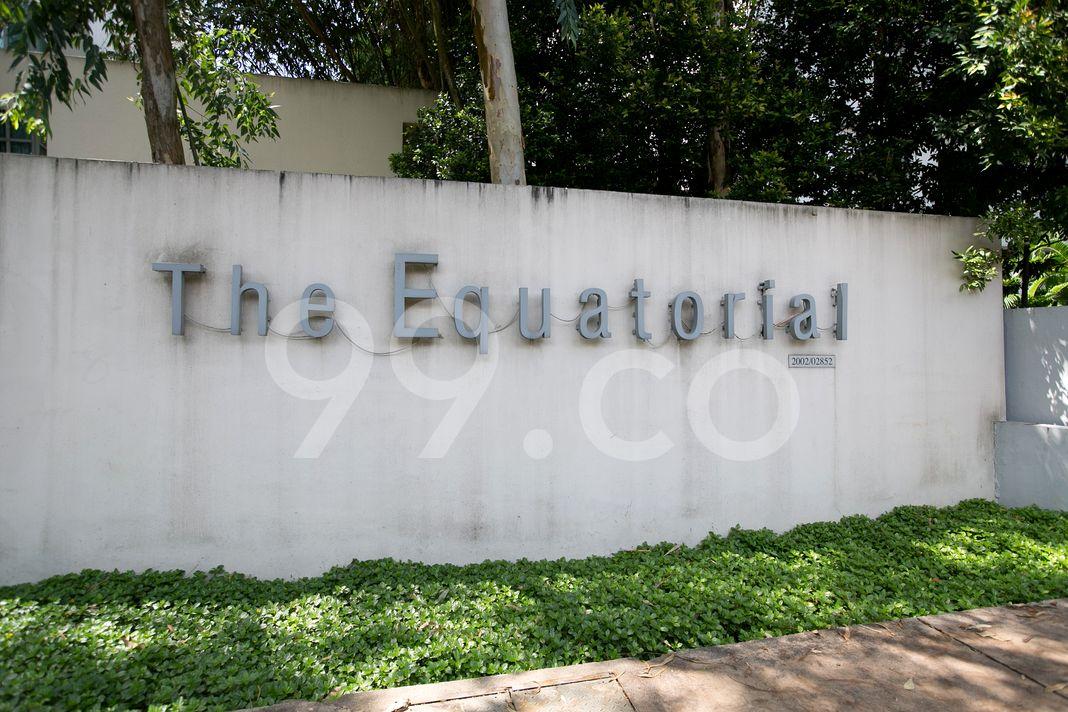 The Equatorial  Logo