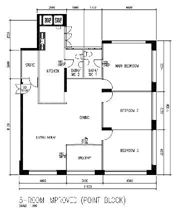 Bishan 192 Floor Plan