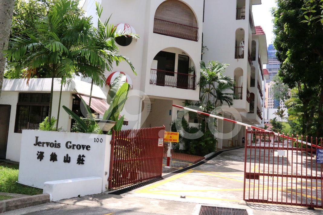 Jervois Grove  Entrance