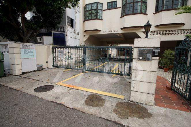 Onan Court Onan Court - Entrance
