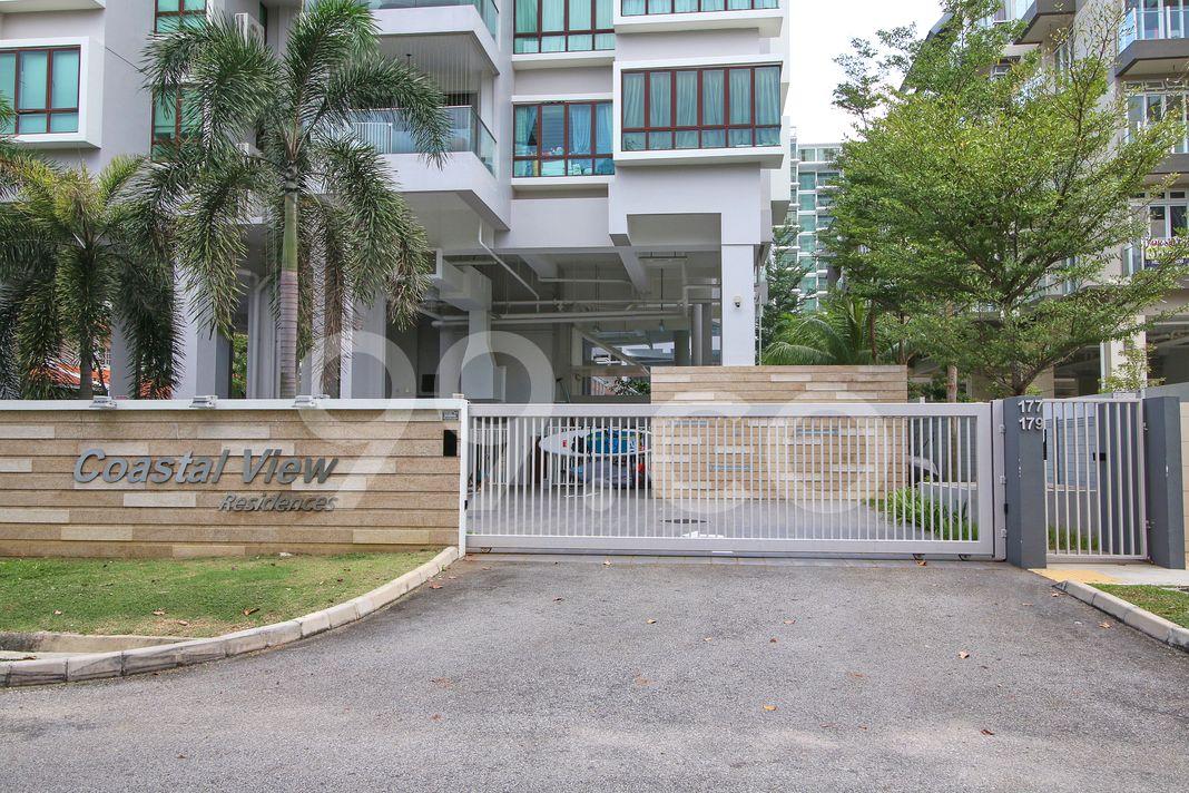 Coastal View Residences  Entrance