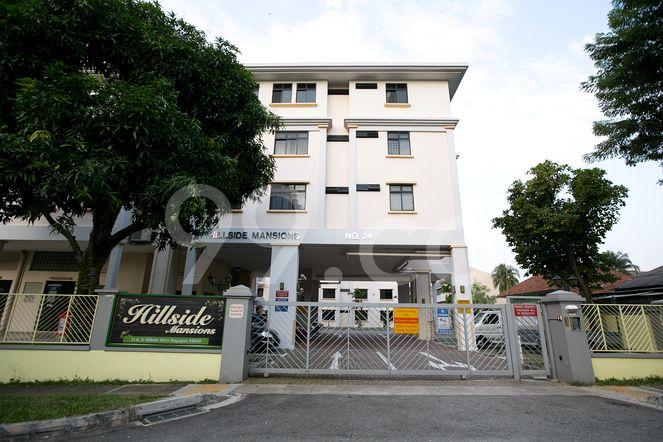 Hillside Mansions Hillside Mansions - Elevation