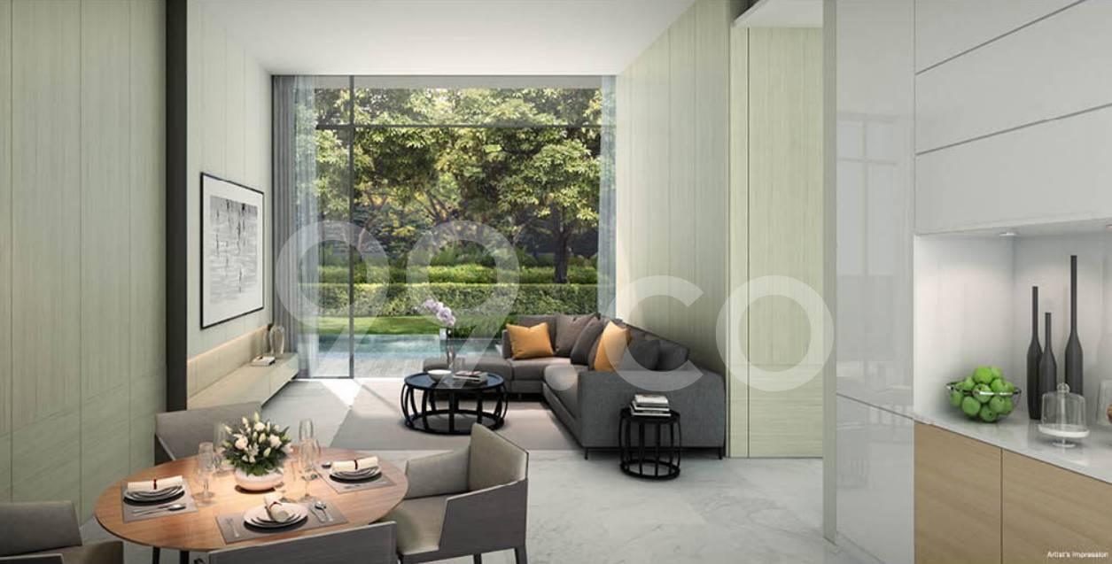Cluny Park Residence Living Room