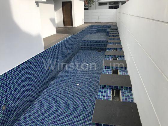 Lap pool view