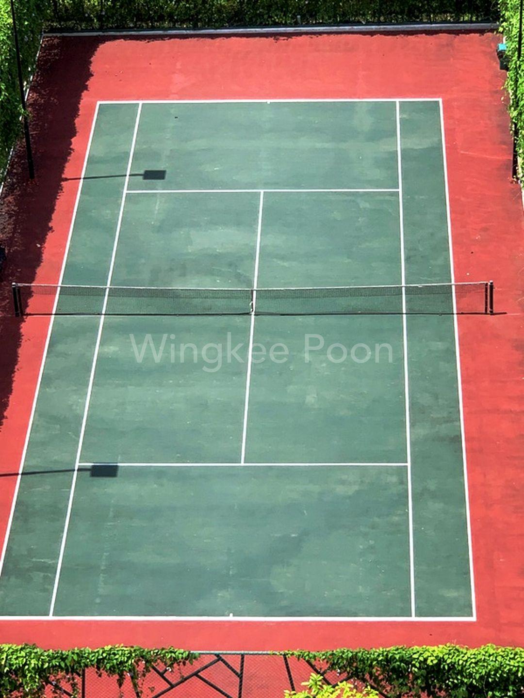 Tennis Court View