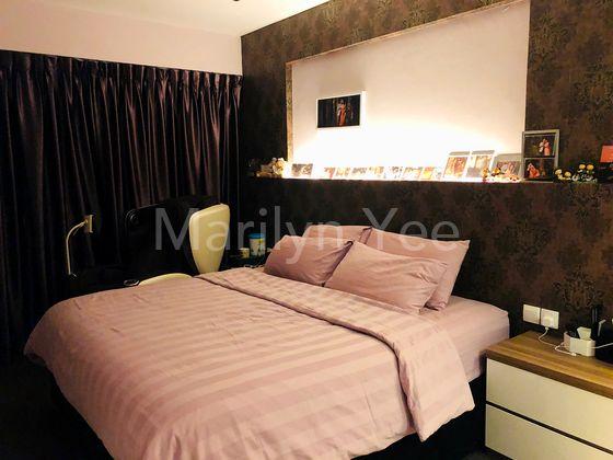 Master bedroom - sleeping area