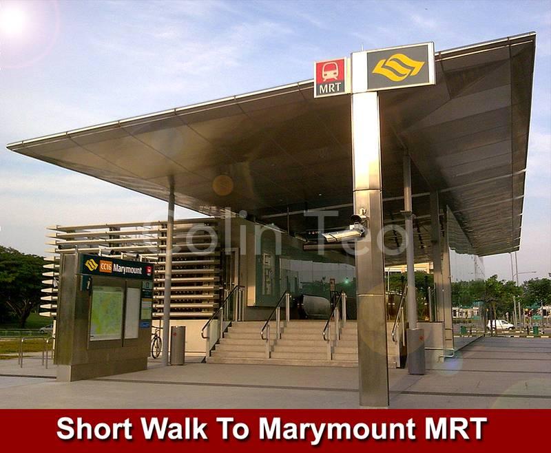 Walk to Marymount MRT