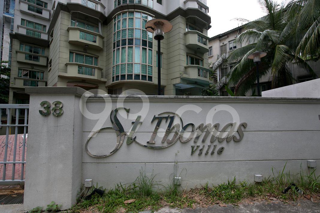 St. Thomas Ville  Logo