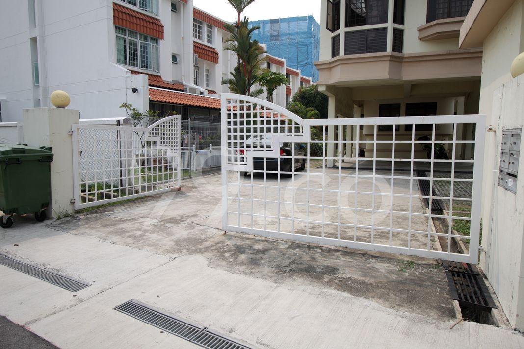 Telok Kurau Mansion  Entrance
