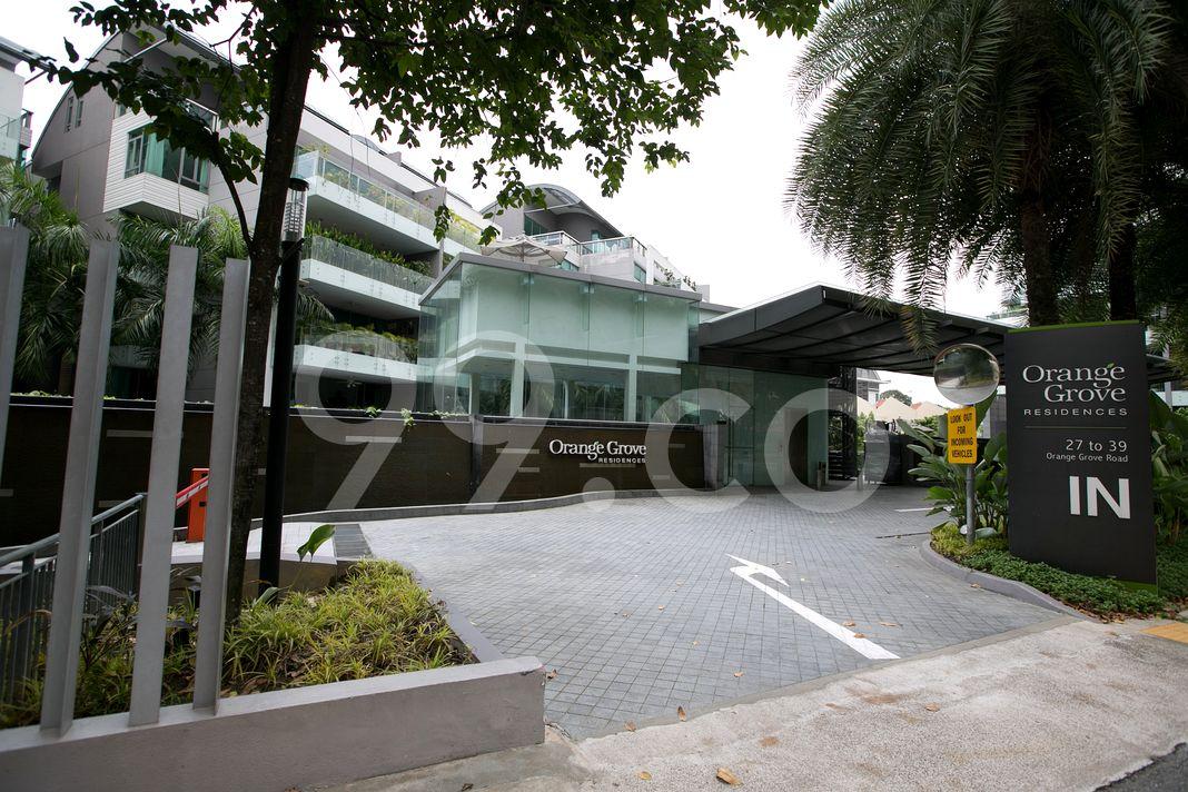 Orange Grove Residences  Entrance