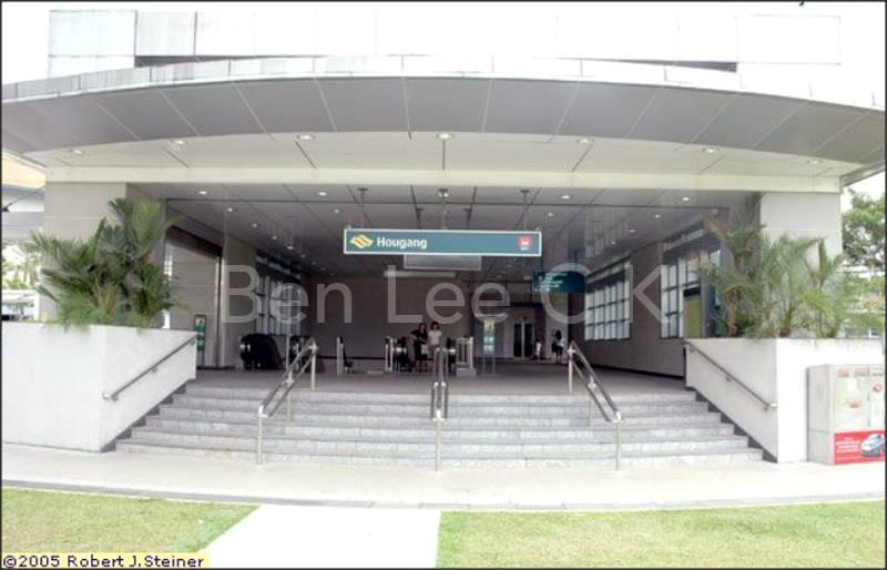 Hougang MRT NE 14 within 5 min walk