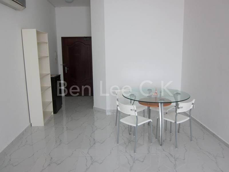 spacious dining hall