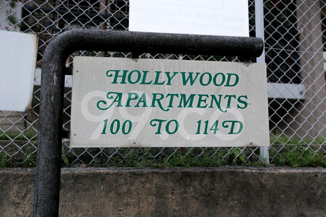 Hollywood Apartments  Logo