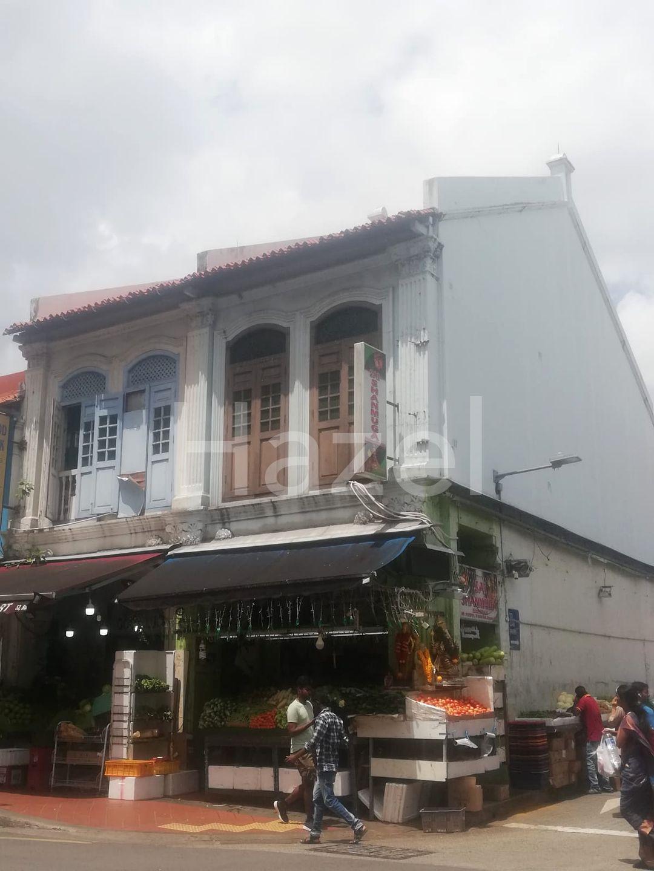 little india shophouse for sale right beside MRT