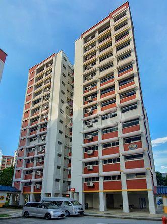 HDB-Hougang Block 466 HDB-Hougang