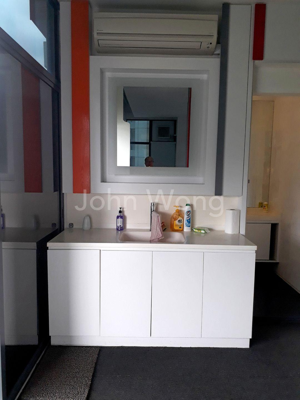 Designer's Decor Vanity Area.