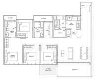 4 Bedrooms Type DS1b