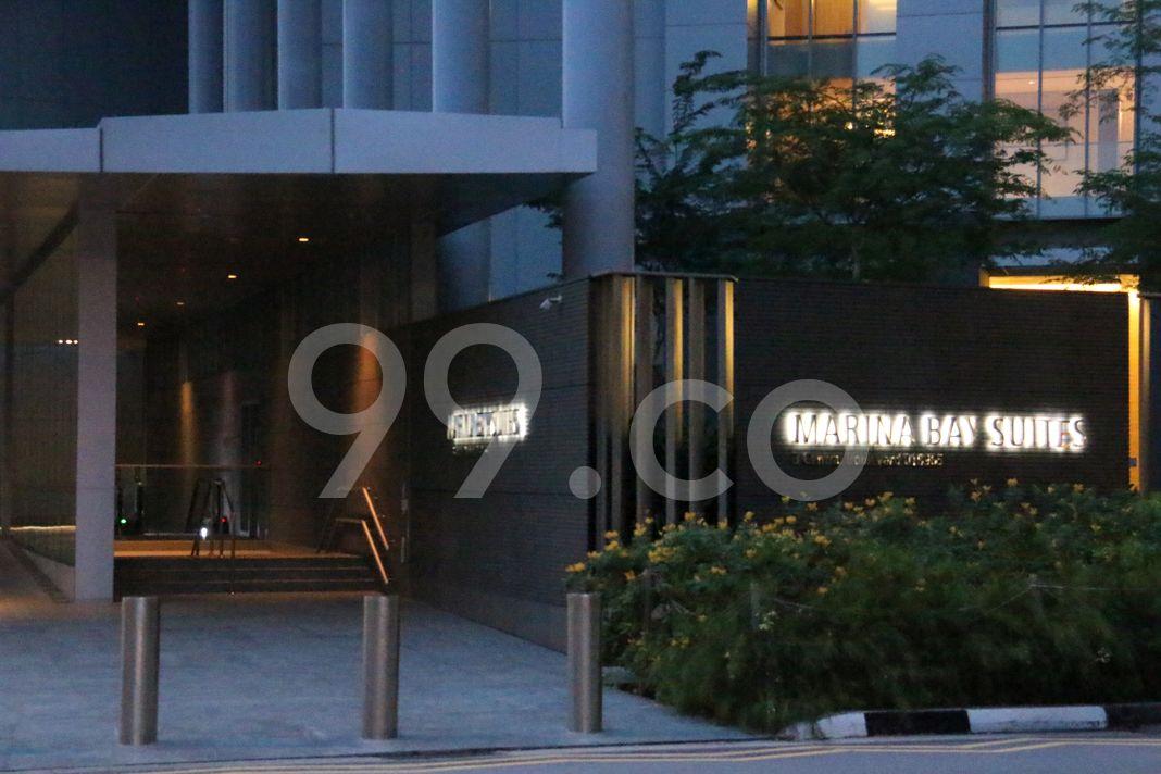Marina Bay Suites  Entrance
