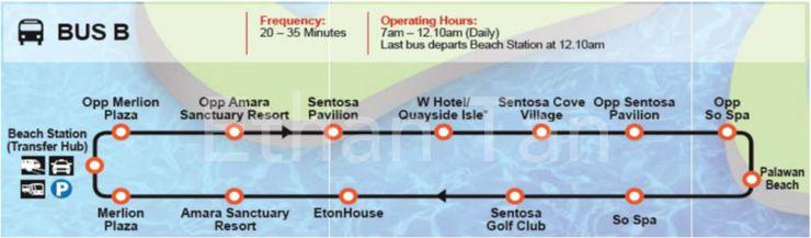 Bus shuttle service