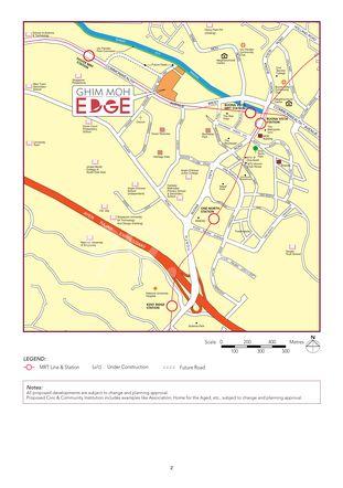 Ghim Moh Edge Location Map