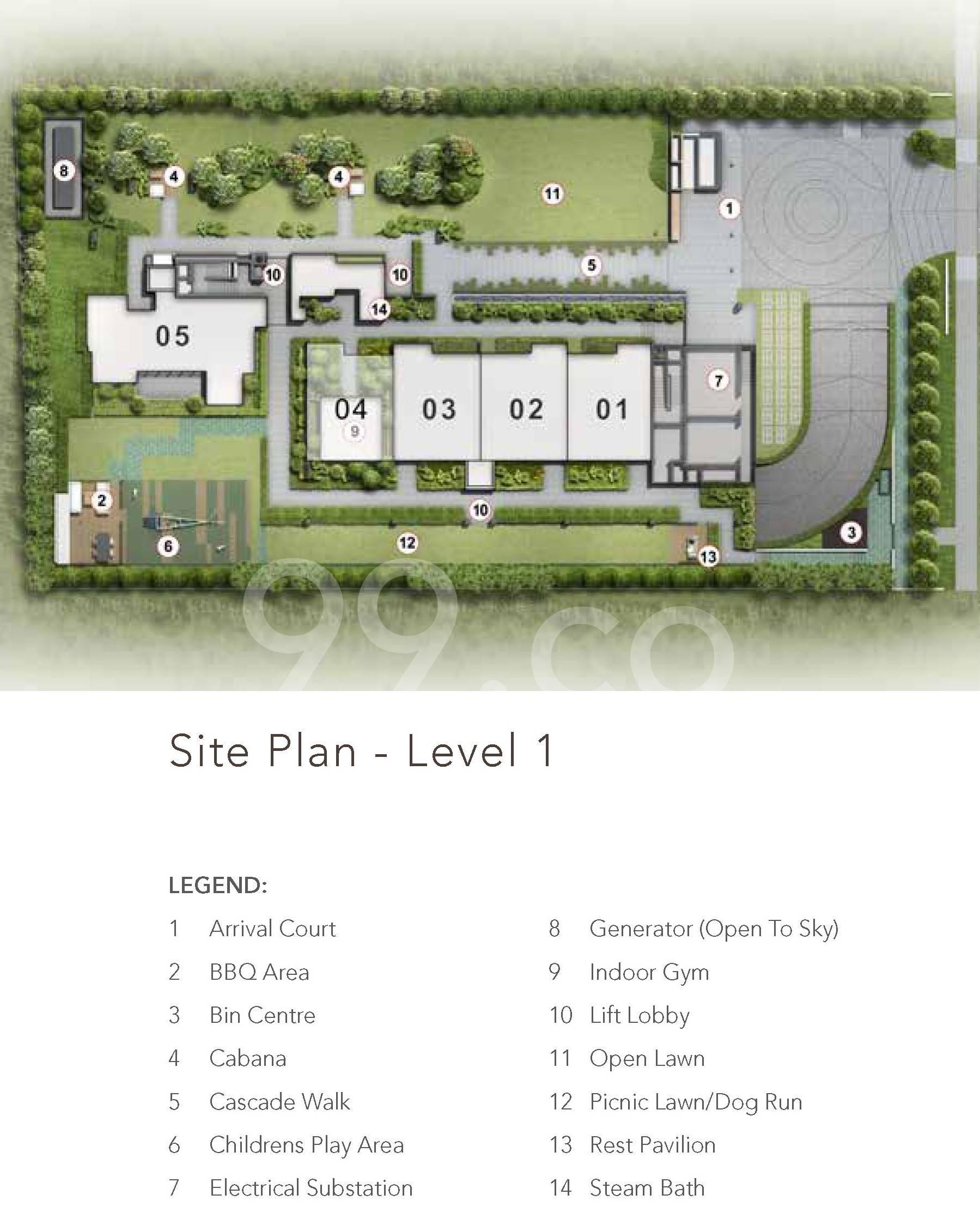 Sloane Residences site plan