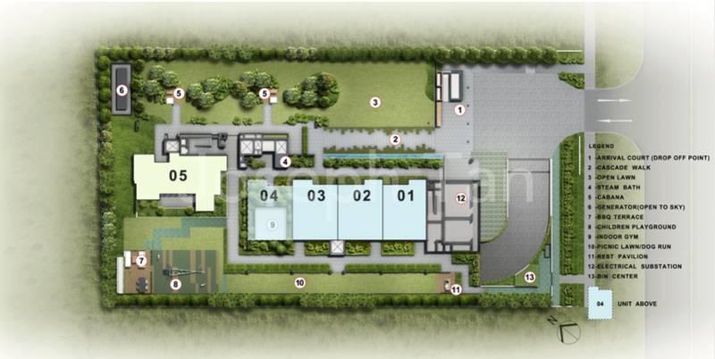 Level 1 Site Plan