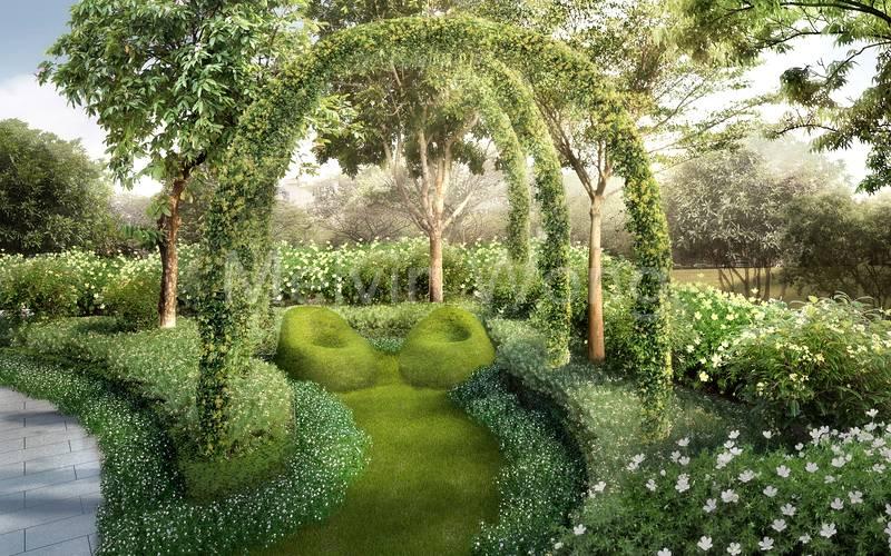 Parc Botannia garden